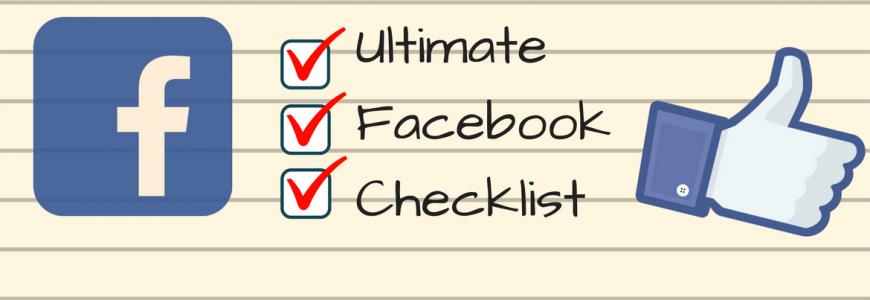 Facebook Page Checklist