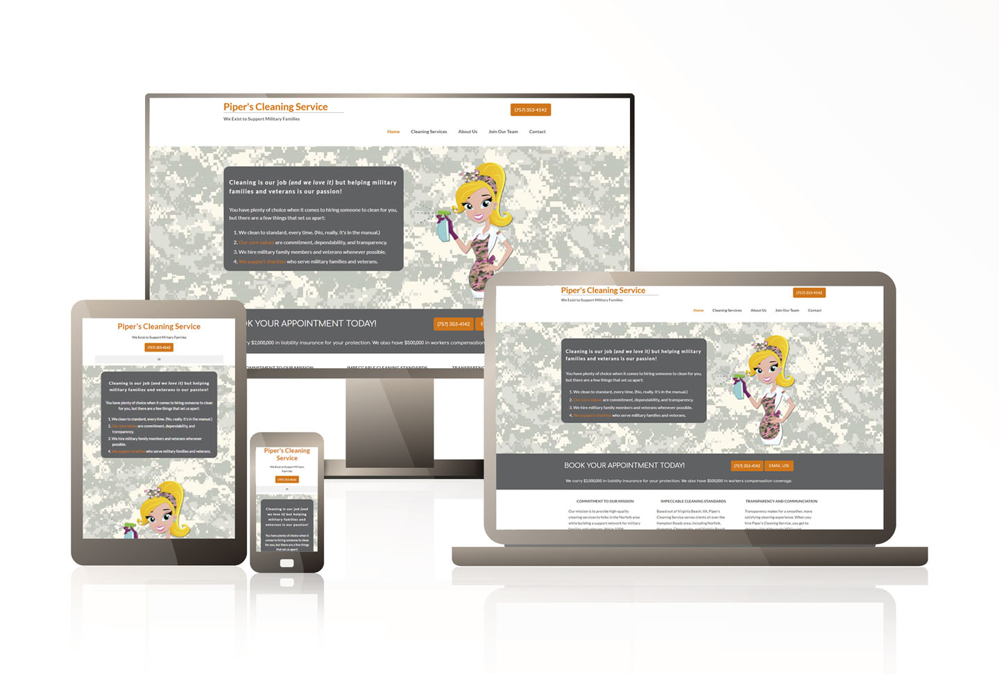 Prospect Genius CoreSite displayed on multiple screens